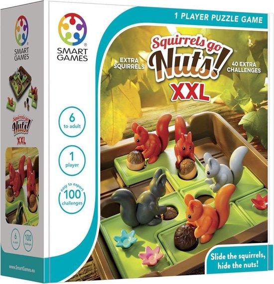 Afbeelding van het spel Smart Games Squirrels Go Nuts XXL