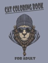 Cat Coloring Book For Adult