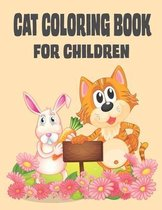 Cat Coloring Book for Children