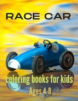 Race car coloring books for kids ages 4-8