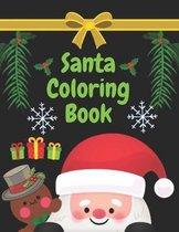 Santa coloring book