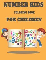 Number Kids Coloring Book for Children