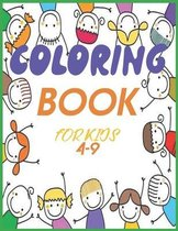 coloring books for kids 4-9