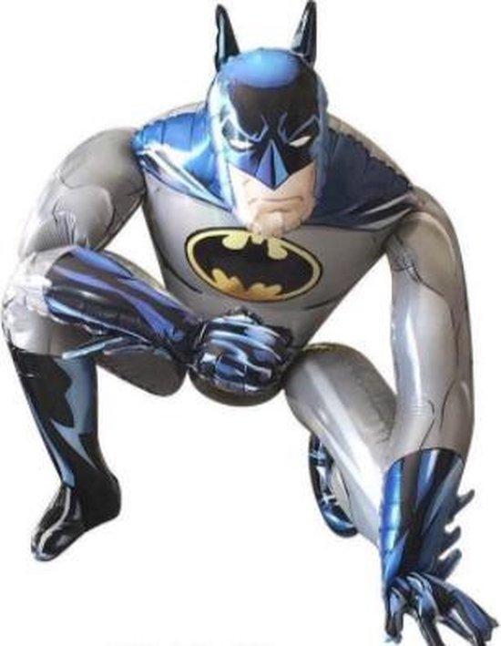 Batman 3D XL Ballon - 66x55,5cm - Folie Ballon - Thema Verjaardag - Superheld - versiering - Ballonnen - Helium ballon