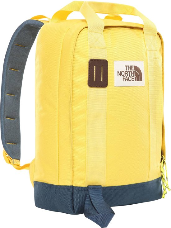 THE NORTH FACE TOTE PACK BAMBOO YELLOW/BLUE
