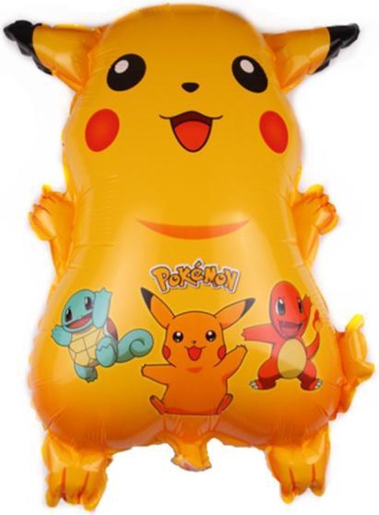 Pikachu folieballon | Verjaardag - Pokémon