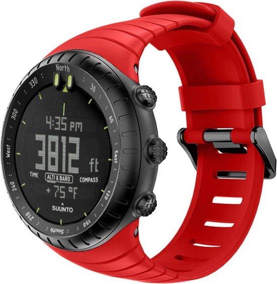Suunto Core Horlogebandje Bandje Polsband Siliconen - Rood
