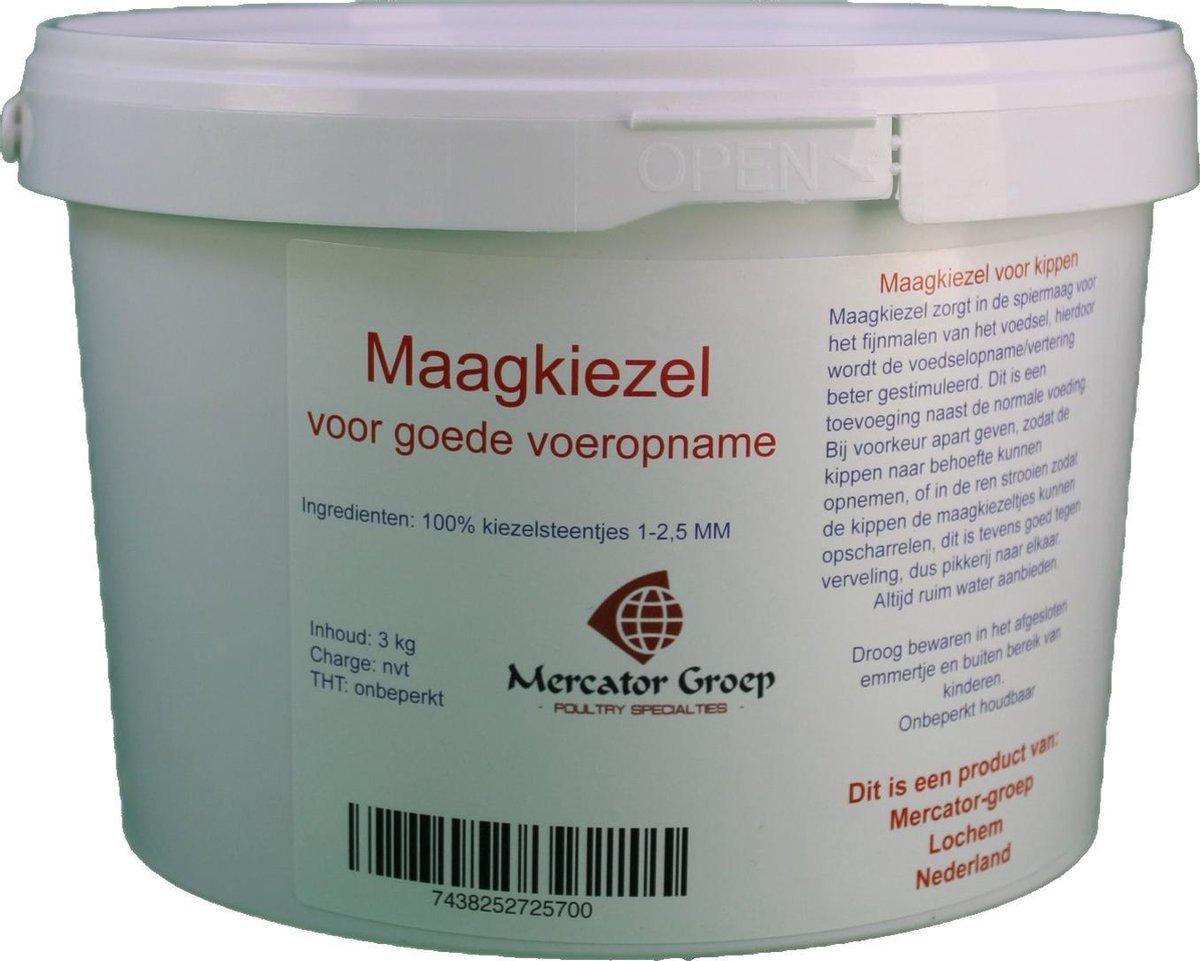 Mercator Maagkiezel - Vertering en voeropname - Kippen - 3 kilo
