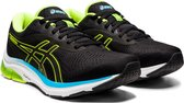Asics Asics Gel-Pulse 12 Sportschoenen - Maat 43.5 - Mannen - zwart/geel/blauw/wit
