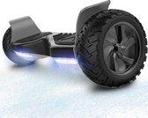 Evercross Challenger Hoverboard 8.5 Inch   700W   Bluetooth Speaker   Zwart