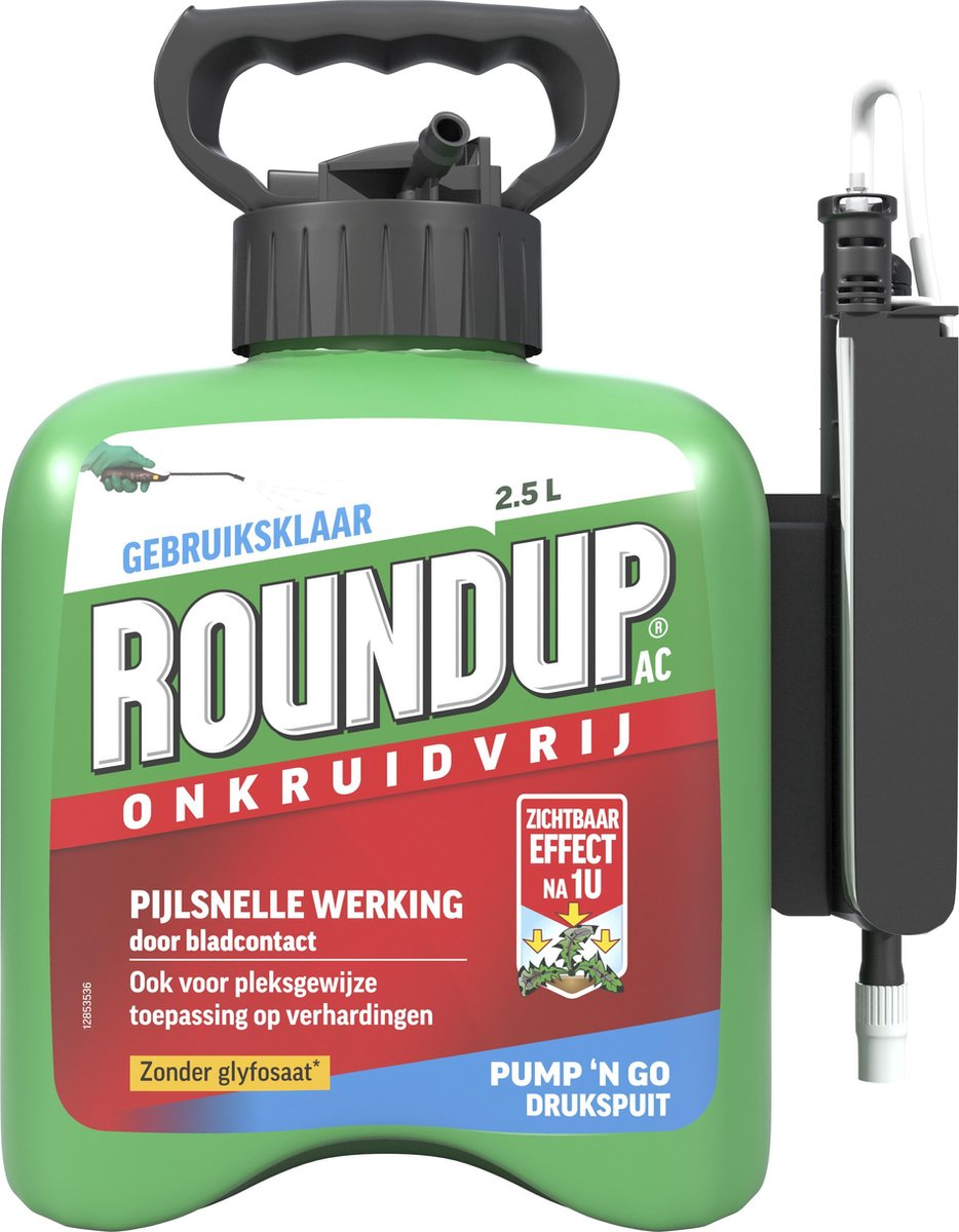 Roundup Onkruidvrij  - Kant en Klaar - 2,5L - Met Drukspuit