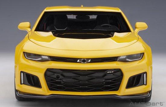 AutoArt 1/18 Chevrolet Camaro ZL1 - 2017, Bright Yellow
