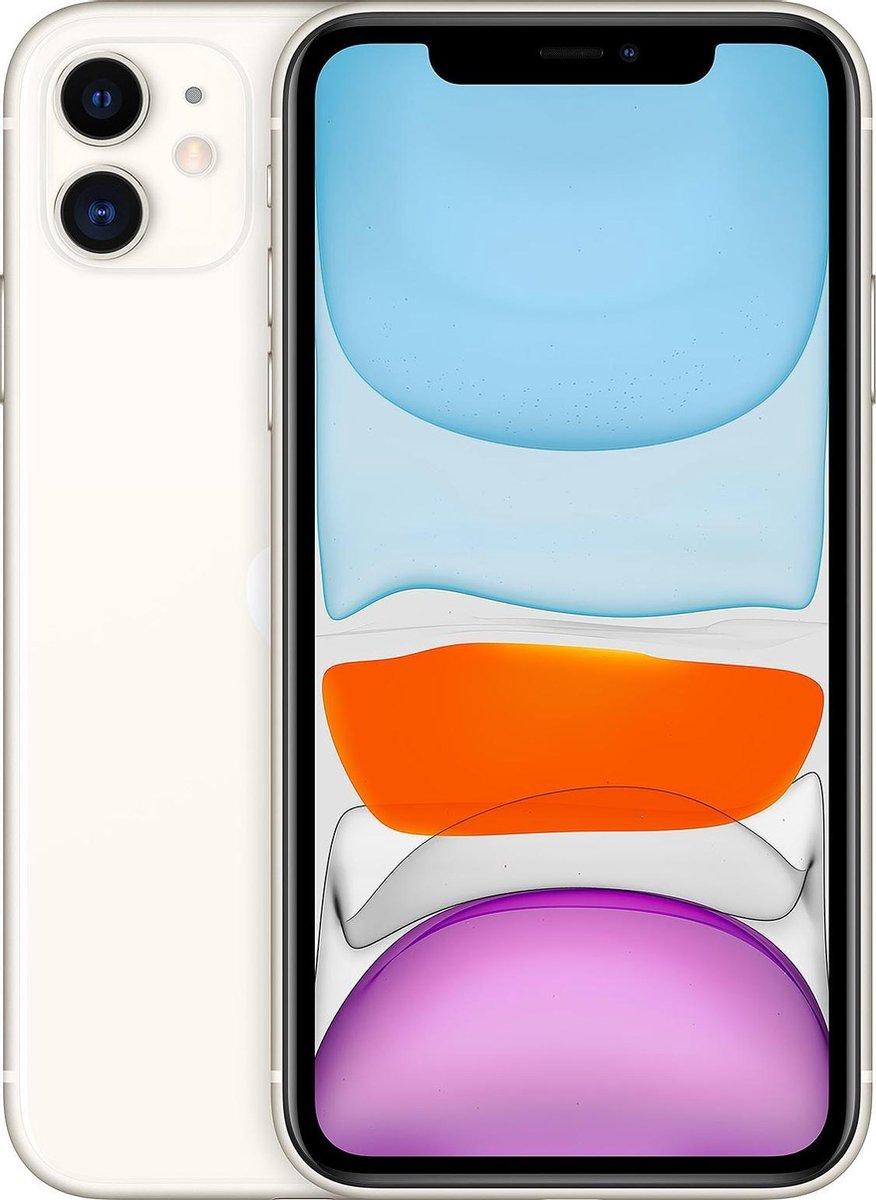 Apple iPhone 11 - Alloccaz Refurbished - A grade (Zo goed als nieuw) - 64GB - Wit