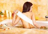 Comfort Lifestyle Sterke Rug Scrubber Loofah + Gratis Lichaamsscrub - Spons