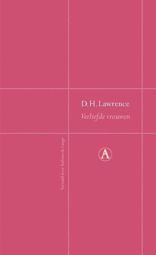 Boek cover Verliefde vrouwen van D.H. Lawrence (Hardcover)