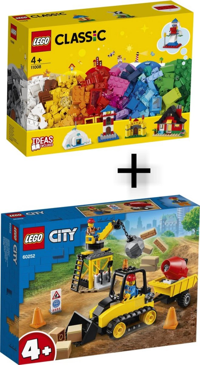 Lego Combi Pakket / Lego Classic 11008 + Lego City 60252