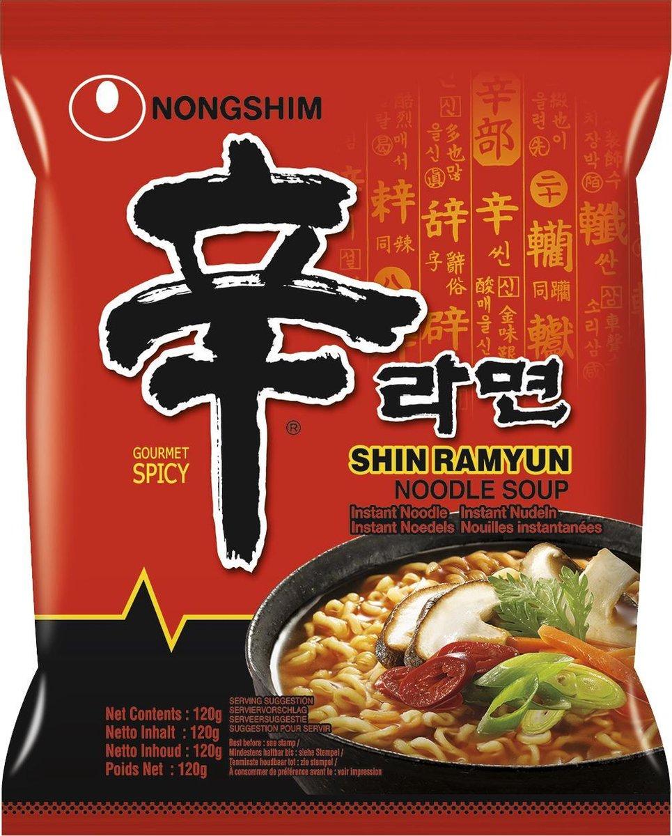 Nongshim Instant Noodle Shin Ramyun 20 pack Pikante Noedels