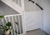 Veiligheidshekje - Traphekje Voor Hond/Kat - Design - Duurzaam - Oprolbaar - Wit