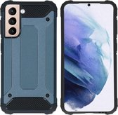 iMoshion Rugged Xtreme Backcover Samsung Galaxy S21 hoesje - Donkerblauw