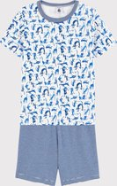 Petit Bateau Kinder Jongens Pyjamaset - Maat 128