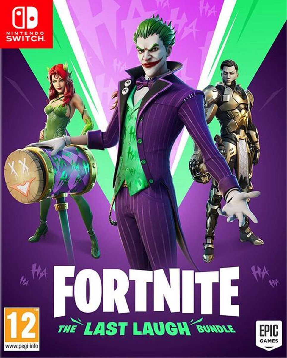Last Laugh Bundle Fortnite - Nintendo Switch - Fortnite Bundle - Download Code