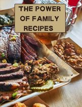 The power of family recipes: XXL cookbook to note down your favorite recipes- Blank Recipe Book Journal- Blank Recipe Book- Blank Cookbook