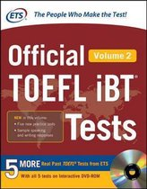 Boek cover Official TOEFL iBT (R) Tests Volume 2 van Educational Testing Service (Hardcover)