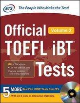 Boek cover Official TOEFL iBT (R) Tests Volume 2 van Educational Testing Service