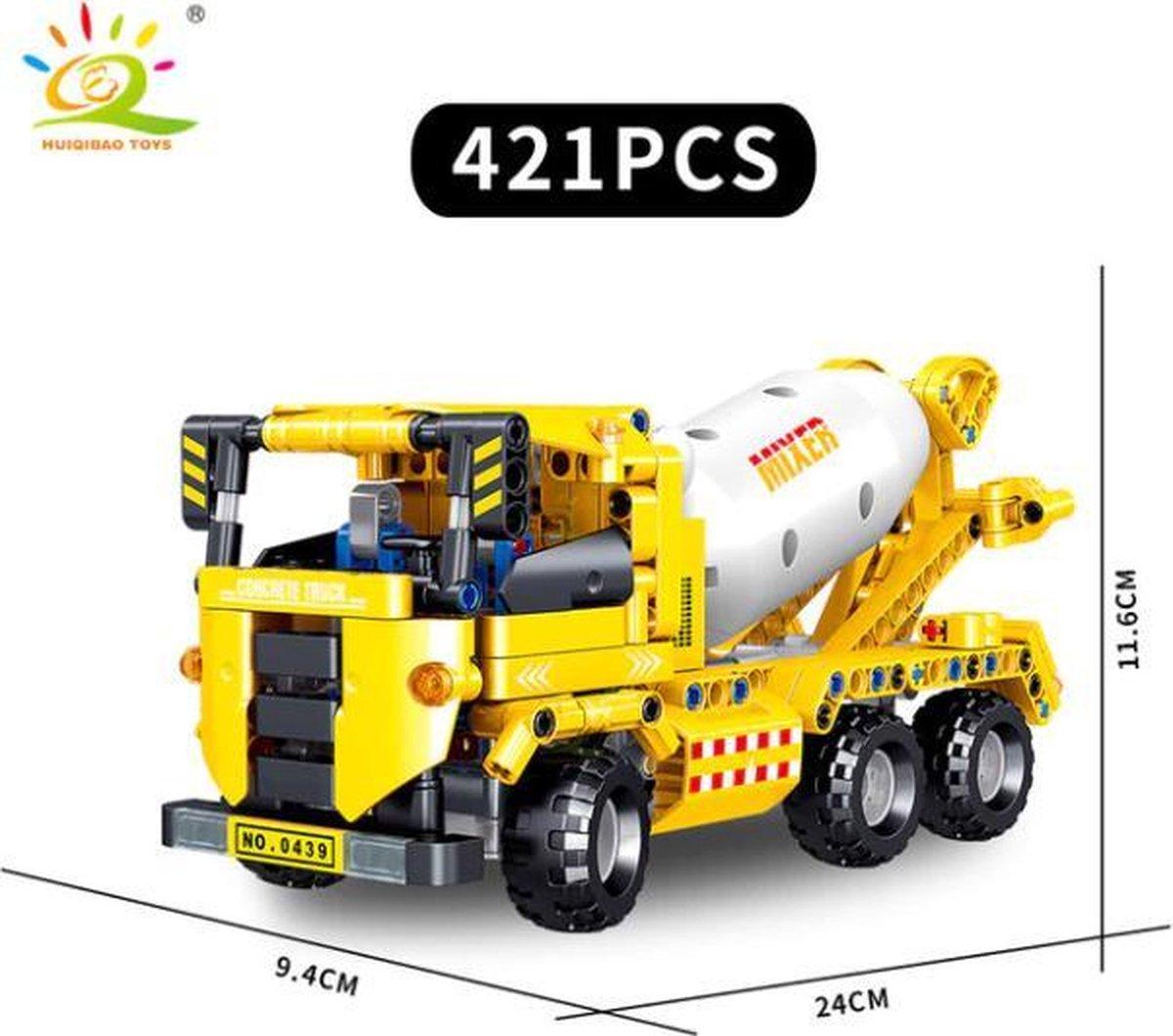Technisch Lego - Technic - geschikt voor LEGO - Bouwplaats - Cementwagen