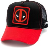 Marvel - Deadpool Patch Red and Black Baseball Cap