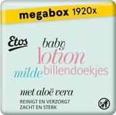 Etos Baby Lotion Mild Billendoekjes Megabox - 1920 stuks (24x 80 stuks)