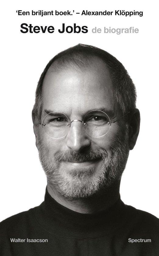 Boek cover Steve Jobs, de biografie van Walter Isaacson (Onbekend)