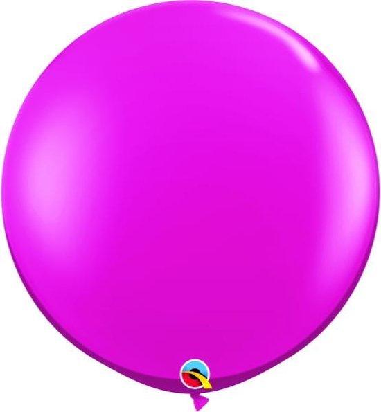 Megaballon Jewel Magenta 90 cm 2 stuks