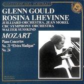 Piano Concertos No.21 Elvira Madigan, No.24. Rosina Lhevinne