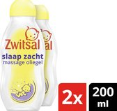 Zwitsal Slaap Zacht Massage Oliegel Lavendel - Baby - 2x200ml