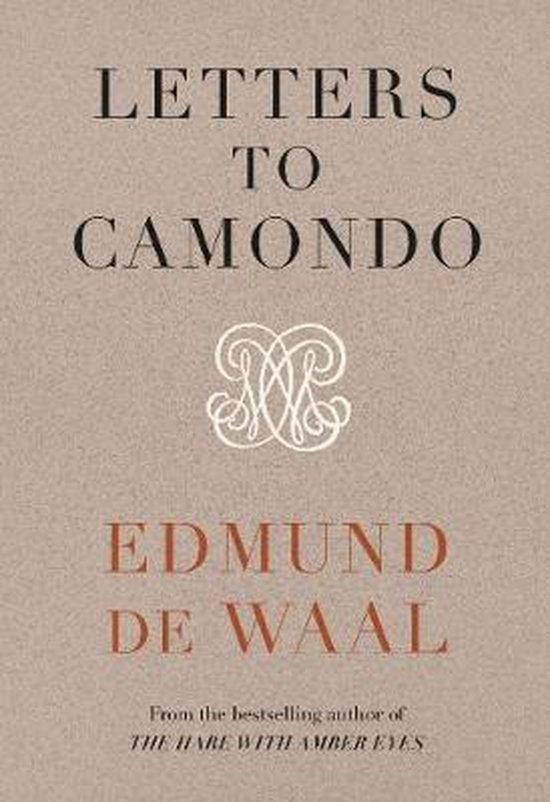 Boek cover Letters to Camondo van Edmund de Waal (Hardcover)