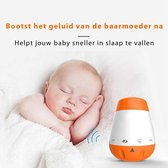 Blossombel Baby husher Pro - Slaaphulp - Slaaptrainer baby + kinderen- white noise machine - oplossing slaapproblemen