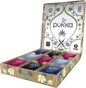 Pukka Relax Theeselectie Geschenkdoos - 5 blends biologische kruidenthee, 45 zakjes - Theedoos