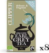 Clipper Organic Earl Grey Tea  - 8 x 20 zakjes