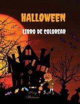 Halloween Libro de Colorear Para Ninos: Libro de 100 paginas para colorear en Halloween para ninos