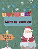 Navidad Libro de Colorear Para Ninos Pequenos