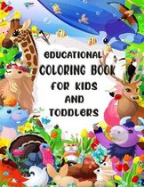 Educational Coloring Book for Kids and Toddlers