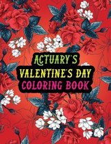 Actuary's Valentine Day Coloring Book