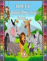 Adult Animals Coloring Book