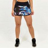 Dames Sportbroek – Rok met binnenbroek – Handige pockets – Design KATRE - Maat S