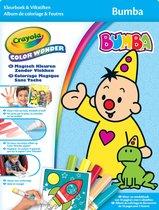 Crayola Color Wonder Bumba - Kleurboek met 5 knoeivrije viltstiften