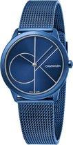 Calvin Klein Minimal Extension horloge  - Blauw