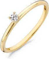 Blush 14 Karaat Gouden Ring (Maat: 48) - Goud