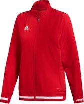 Adidas T19 Dames Presentatiejack - Jassen  - rood - S