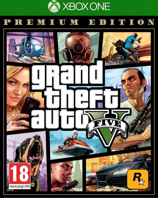 GTA V - (Grand Theft Auto 5) - Premium Edition - Xbox One